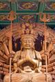kuan yin wood sculpture - PhotoDune Item for Sale