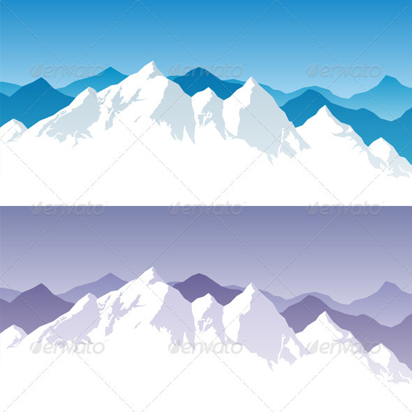 GraphicRiver Mountain Range 302394