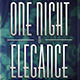 One Night Of Elegance Party Flyer - GraphicRiver Item for Sale