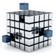 Metal Cubes 01 - GraphicRiver Item for Sale
