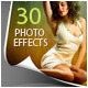 30 Photo Effects - GraphicRiver Item for Sale