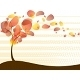 Quirky Autumn Tree Background - GraphicRiver Item for Sale