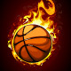 Burning basketball - GraphicRiver Item for Sale