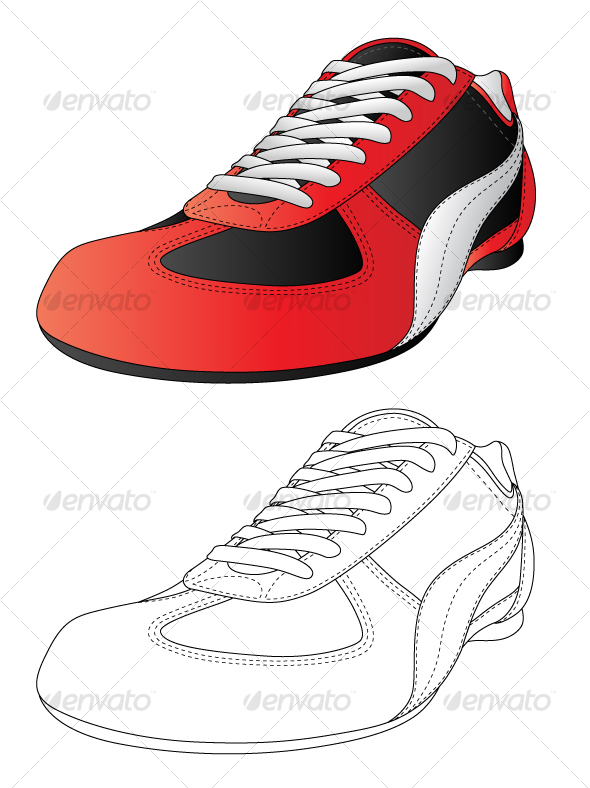 GraphicRiver Sport shoes 101660