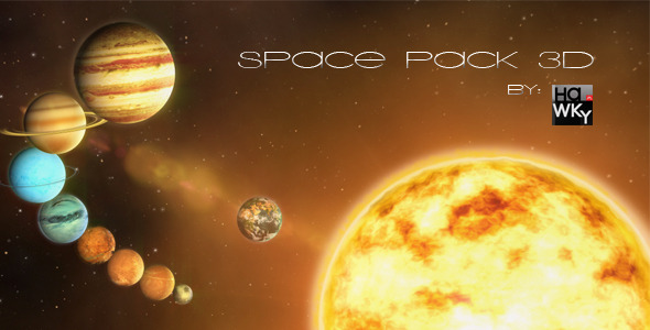 VideoHive 3D Space Pack 2823743