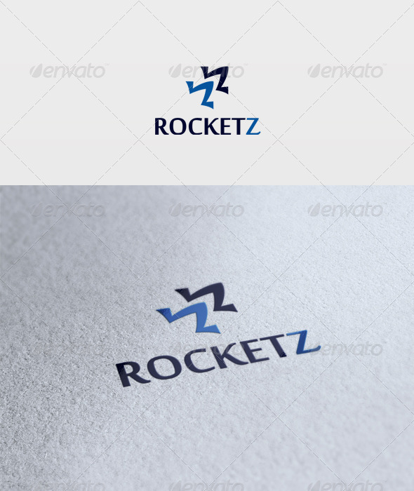 Rocketz Logo - Vector Abstract