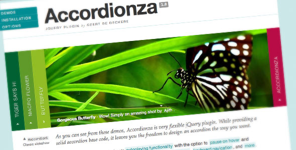 CodeCanyon Accordionza jQuery Plugin 101685