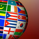 3D Globe With International Flags - VideoHive Item for Sale