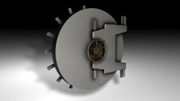 3DOcean Vault Door 101728