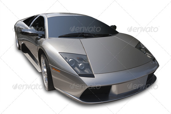 Sportscar - Stock Photo - Images