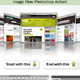 Image Flow Photoshop Action - GraphicRiver Item for Sale
