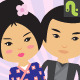 Japanese Couple - GraphicRiver Item for Sale