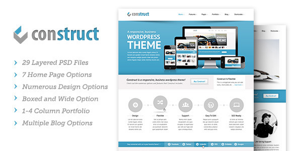 ThemeForest Construct PSD 2491716