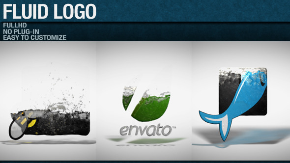 After Effects Project - VideoHive Fluid Logo 2820015
