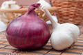 Red onion and garlic - PhotoDune Item for Sale