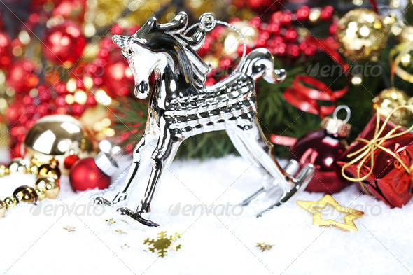 Christmas composition - Stock Photo - Images