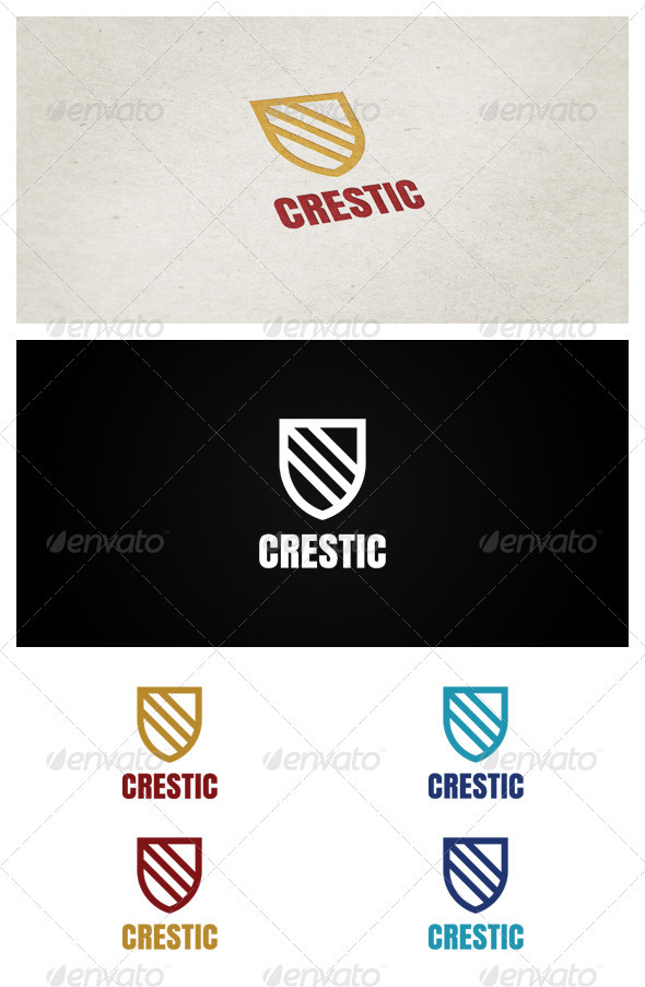 Crestic - Crests Logo Templates