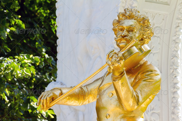 Johann Strauss - Stock Photo - Images