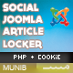Article Content Locker Social – Joomla Plugin - CodeCanyon Item for Sale