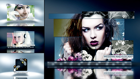 After Effects Project - VideoHive Modern Slideshow 2824530