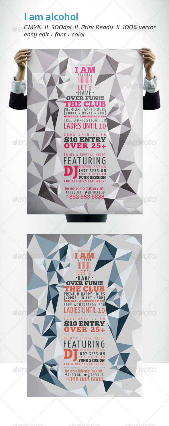 GraphicRiver I AM ALCOHOL 2806331