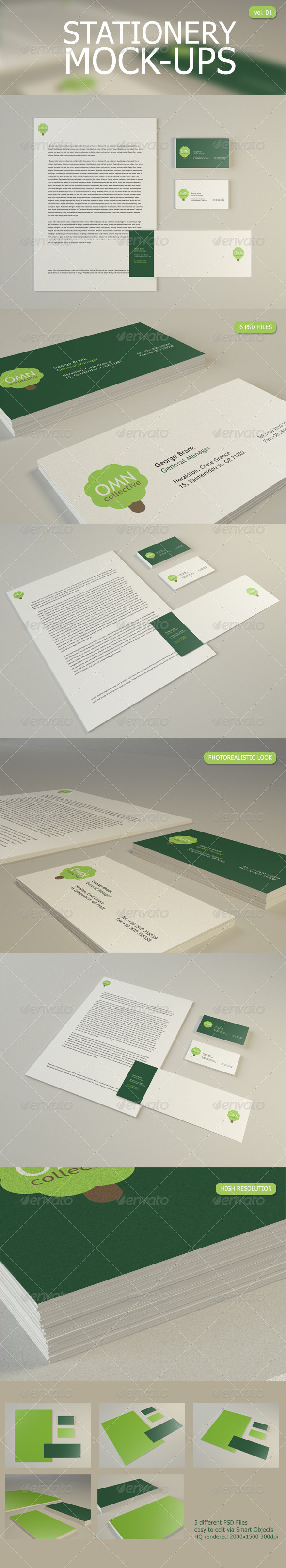 Stationery Mock Up - Stationery Print