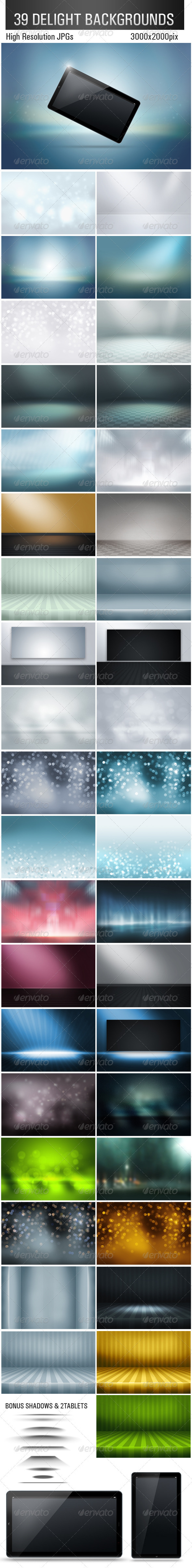 39 Delight Backgrounds - Abstract Backgrounds