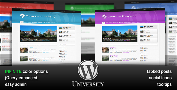 WordPress University - Business Corporate