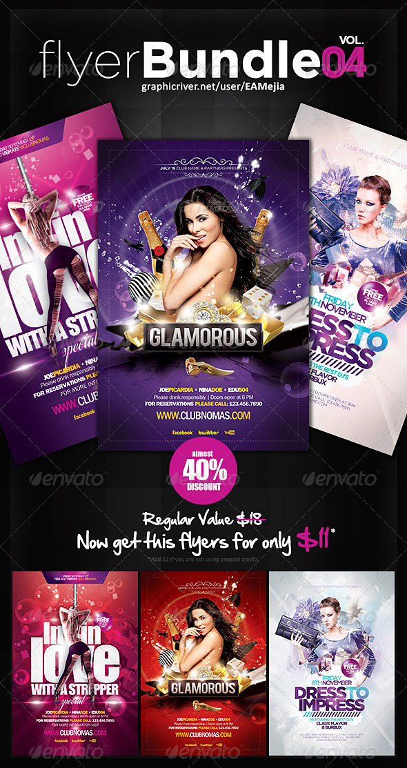 Flyer Bundle Vol. 4 - Events Flyers