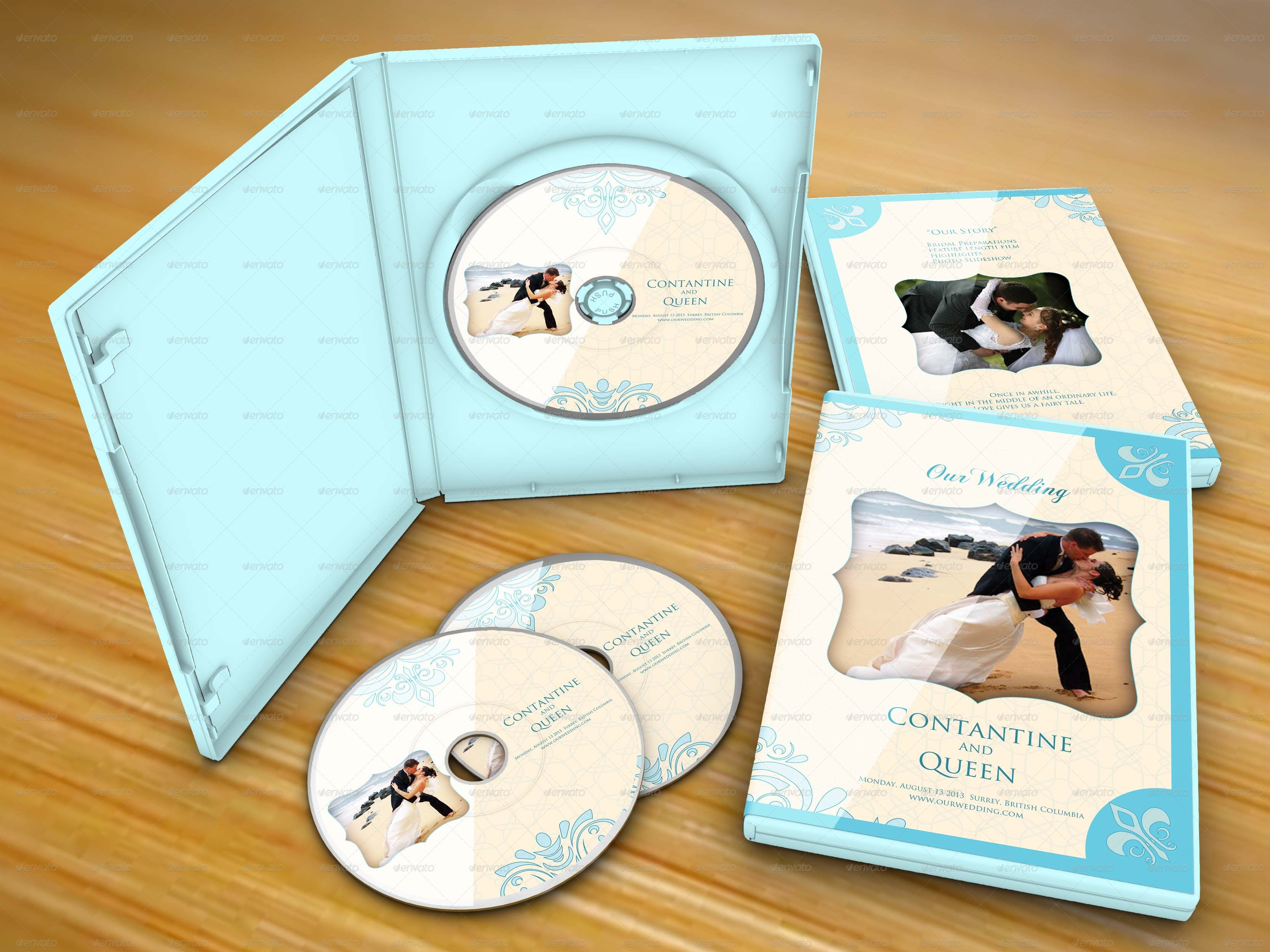 5 Item Wedding DVD