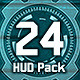 24 Hi-Tech HUD / Interface Pack - VideoHive Item for Sale