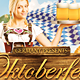 Oktoberfest Festival Flyer Vol. 1 - GraphicRiver Item for Sale