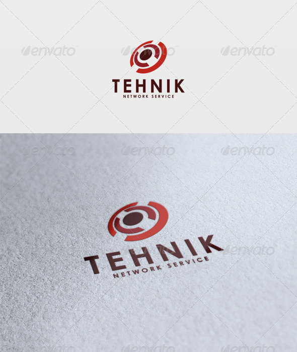 Tehnik Logo - Vector Abstract