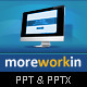 Moreworkin Business Powerpoint Presentation - GraphicRiver Item for Sale
