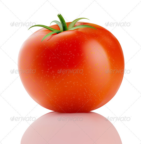 Red truss tomato - Food Objects
