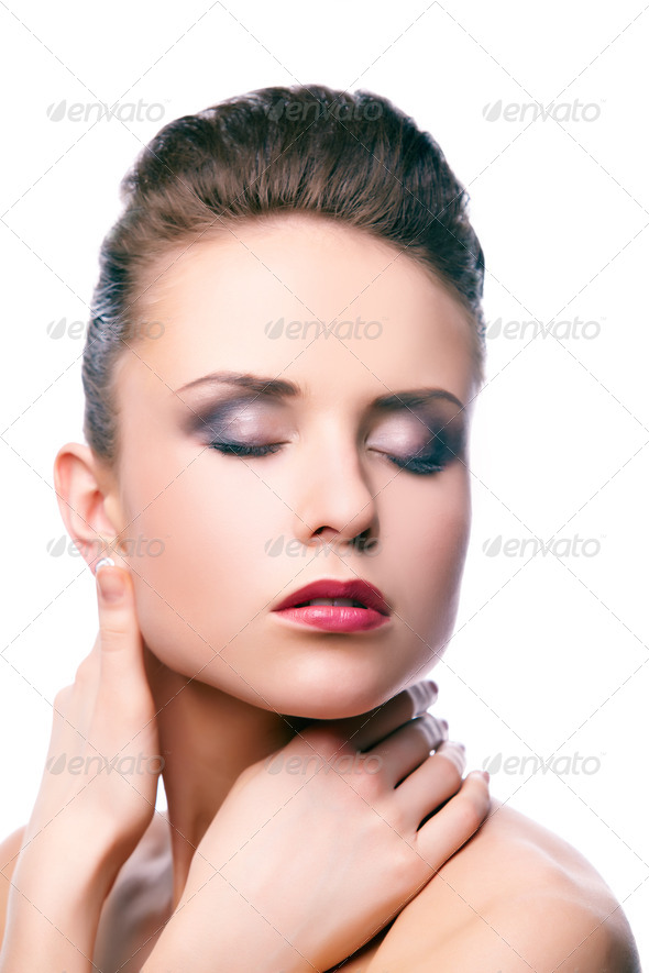 Tenderness of skin - Stock Photo - Images