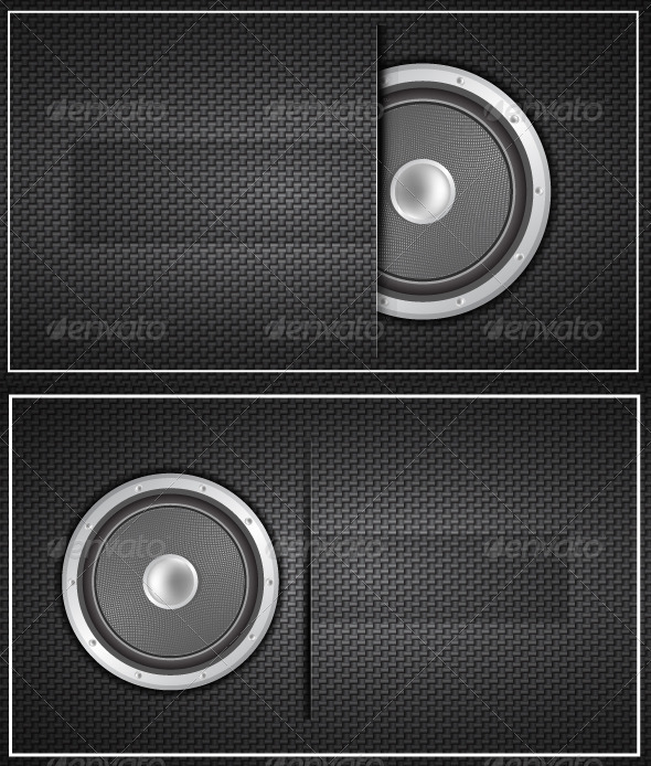 Vector Loudspeaker Carbon Texture - Media Technology