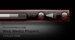 Web Media Player Skins