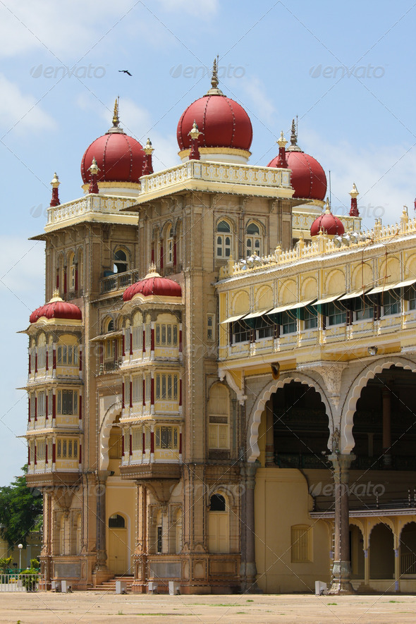 Mysore Palace - Stock Photo - Images