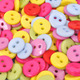 Brightly Colored Clothing Buttons - PhotoDune Item for Sale