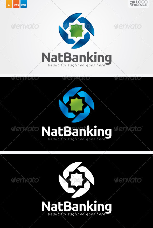 NatBanking - Vector Abstract