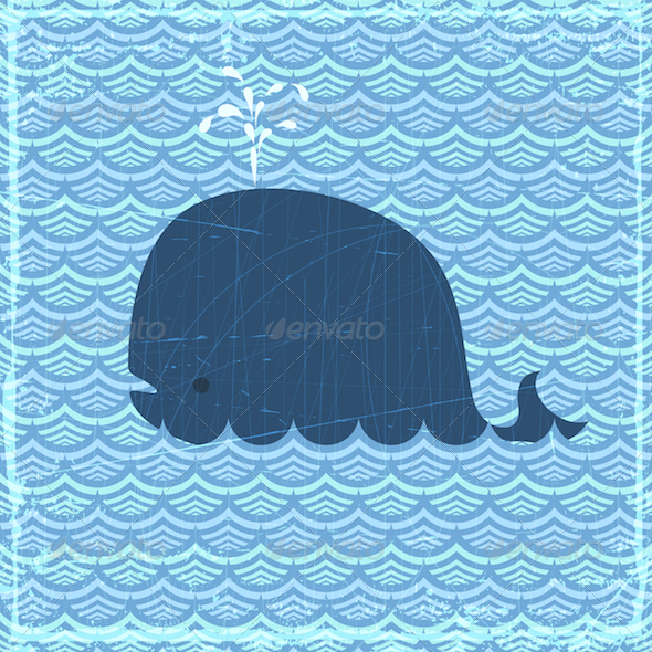 The Whale - Animals Characters