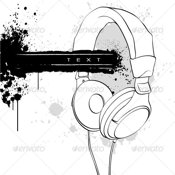 GraphicRiver Headphones 102366