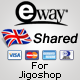 eWay UK Shared πύλη για Jigoshop