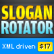 Slogan Banner Rotator (XML) - ActiveDen Item for Sale
