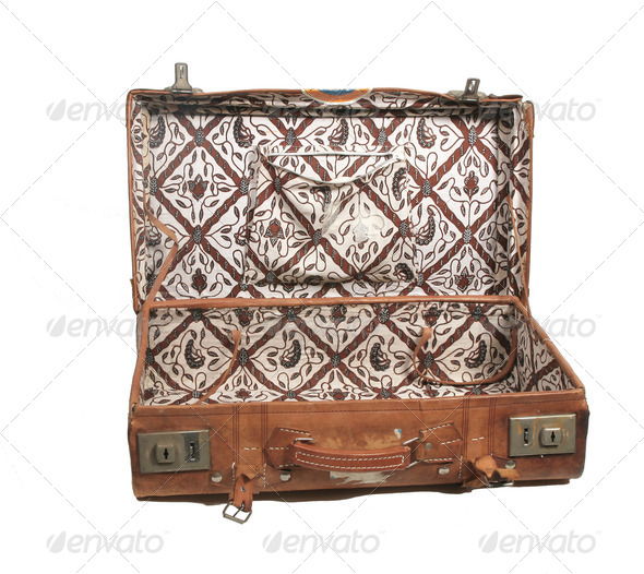 Open suitcase - Stock Photo - Images