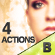4 Photoshop Actions - GraphicRiver Item for Sale