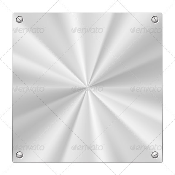 Metal Plate - Backgrounds Decorative