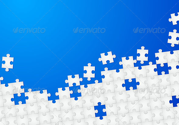 Puzzle background - Backgrounds Decorative