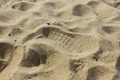 Footstep On The Beach - PhotoDune Item for Sale